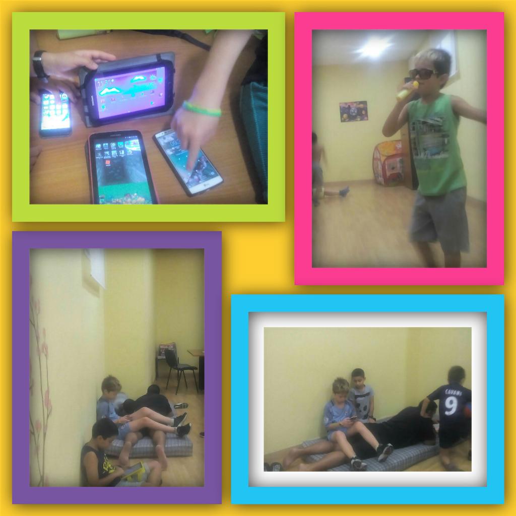 Aprendemos a utilizar las nuevas tecnologías como los móviles, tablets, etc..